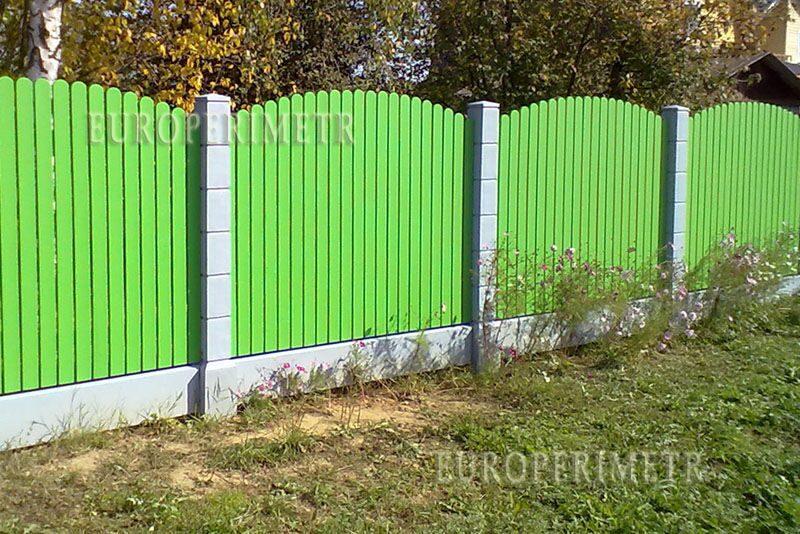 Забор своими руками из камыша
